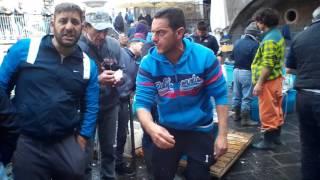 La Pescheria fish market Catania, Sicily April 2017