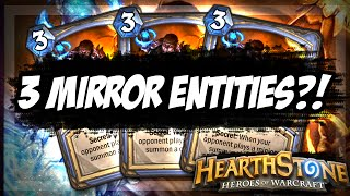3 Mirror Entities?! [Hearthstone Arena Gameplay]