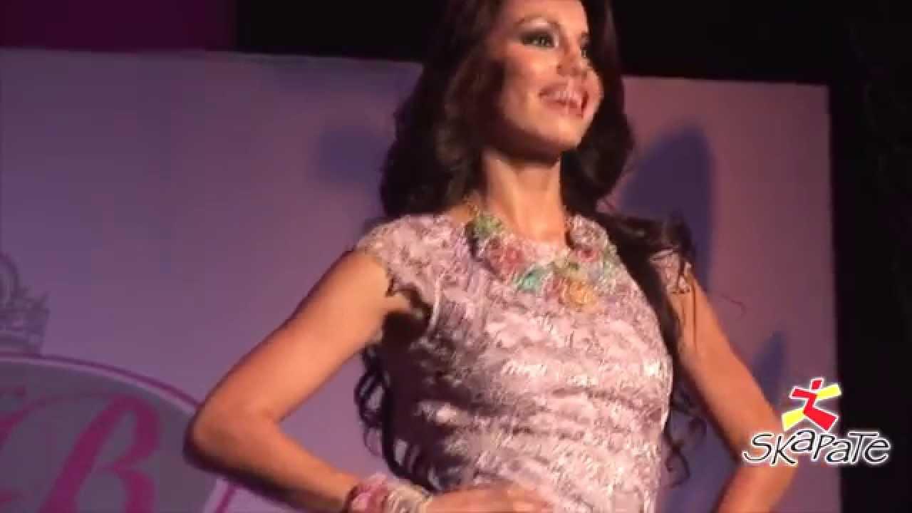 Nuestra Belleza Puebla 2014 - Pasarela en vestido de cóctel y bikini ...