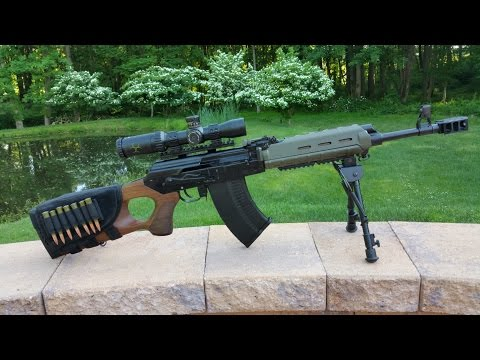 "VEPR 7.62x54r 16"" Barrel AK Battle Rifle Review"
