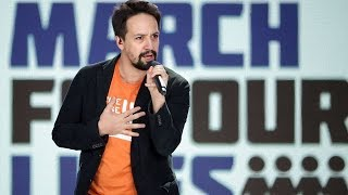 Ariana Grande, Lin-Manuel Miranda support March for our Lives
