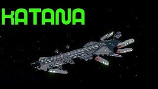 Roblox:Galaxy-*EPIC*NEW KATANA ship review