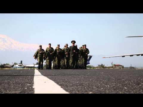 Военный смотр, воздушная база 3624, аэропорт «Эребуни», Армения