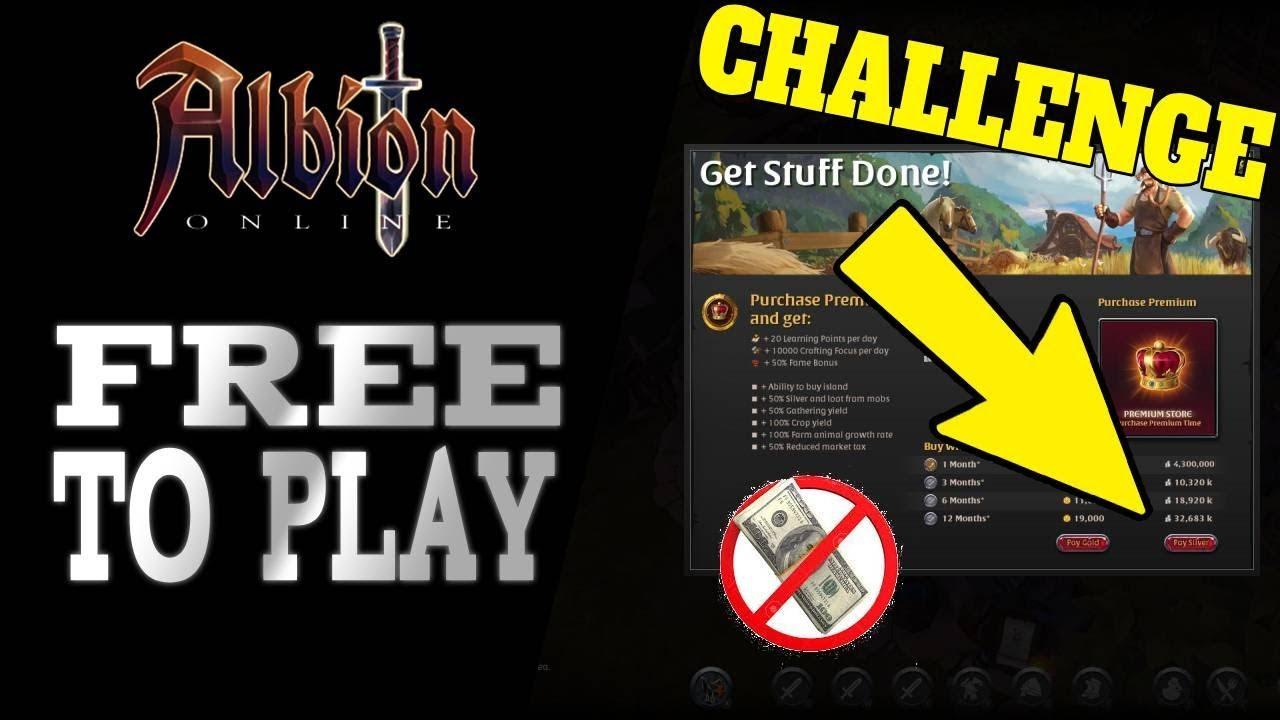 Albion Online Problems albion online | f2p to premium - 3 day challenge (get premium insanely  fast!)