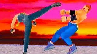 Virtua Fighter X REMIX (20th Anniversary Tribute) Sarah Playthrough / Saturn