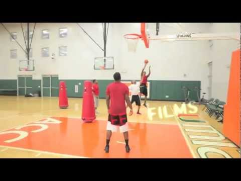 BluePrint Basketball: Kevin Durant & Joe Johnson Workout