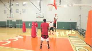 BluePrint Basketball: Kevin Durant & Joe Johnson Workout