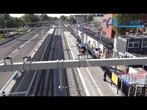 Bouw van dak station Assen gestart