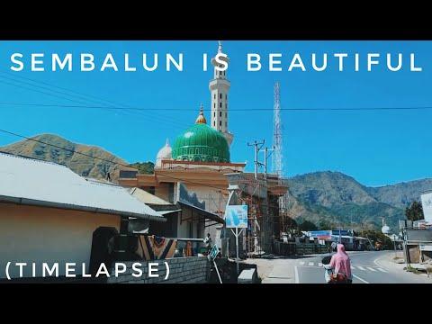 SEMBALUN, LOMBOK, INDONESIA (timelapse)