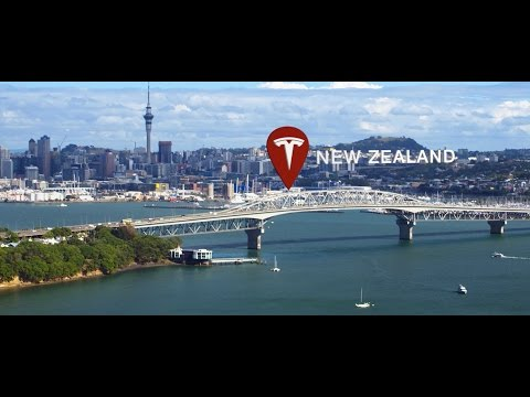 Tesla Meets New Zealand