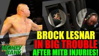 Brock Lesnar SEVERE Heat After Altercation With Vince Backstage For Money In The Bank 2019 INJURIES!