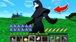 How to play PLAGUE DOCTOR in Minecraft! Real life family SCP-049! Battle NOOB VS PRO Animation