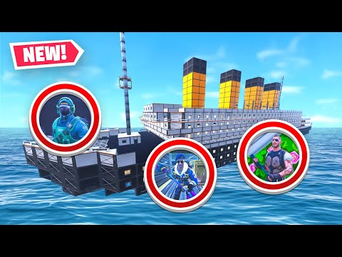 TITANIC HIDE & SEEK MAP in Fortnite