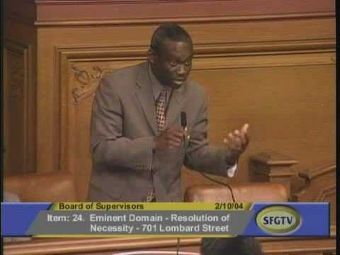 SF Supervisors Vote for Open Space.flv