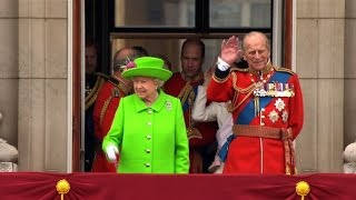 Britain's Prince Philip, 96, in hospital with infection