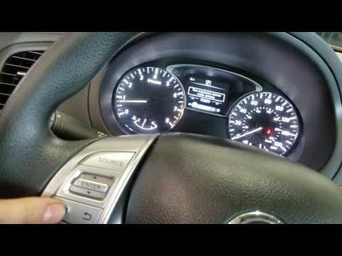 Nissan Altima 2016 2015 2017 Maintenance Reset - YouTube