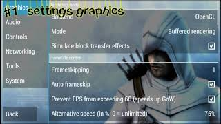 PPSSPP || Best settings Assassin's Creed Bloodlines