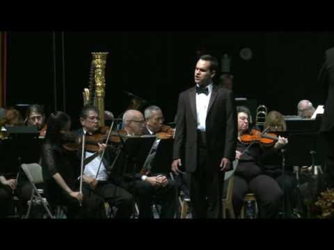 John Castillo sings Bizet's Toreador Song and Bob's aria by Menottie