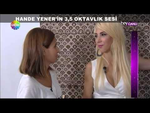 Hande Yener ile keyifli röportaj