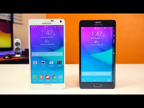 Note 4 vs Note Edge - What