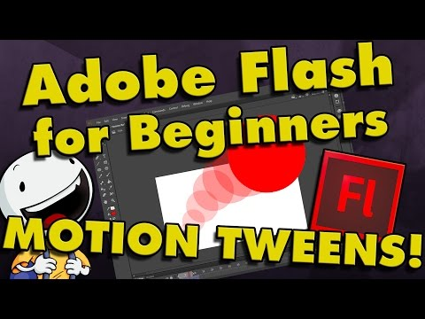 How To Animate in Flash for Beginners (Part 2) | Motion Tweens