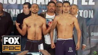 Keith Thurman vs Josesito Lopez | WEIGH-INS | PBC ON FOX