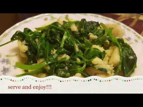 Stir-fry Snow Peas Sprout