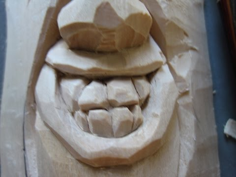 WOODCARVING THE TOOTHY