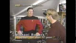 House Tour of Star Trek Collector Michael Rogers - Collectibles and Props