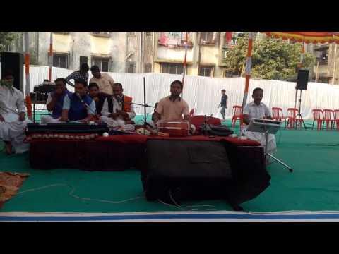Chala chali Jaunpur Bhajan in Bhagwat Katha Krishna Nagar Boisar