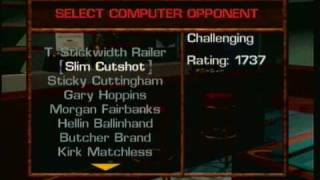 Virtual Pool 64- The Names