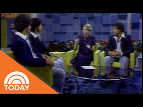 See Three Identical Strangers Triplets On TODAY In 1981 | TODAY