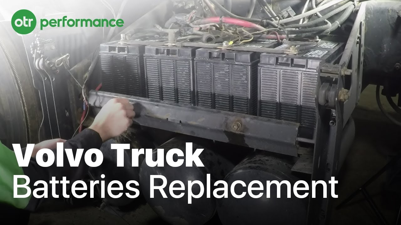 Volvo Truck Batteries How To Otr Performance Youtube