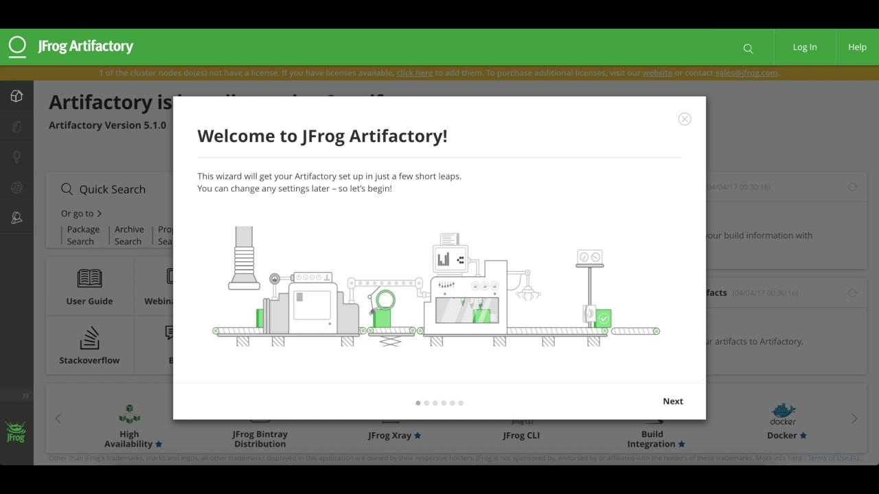 Installing Artifactory - JFrog Artifactory - JFrog Wiki
