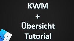 Kwm tutorial + Übersicht bar on MacOS