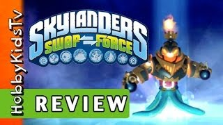 Skylanders Video Game Play + Review HobbyKidsTV