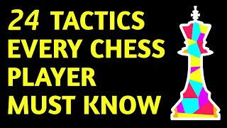 ALL Chess Tactics Explained |Chess Strategy, Moves, Ideas & Basics for Beginners| How to Play Chess
