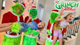 Escape the Babysitter Grinch Steals Christmas!!!