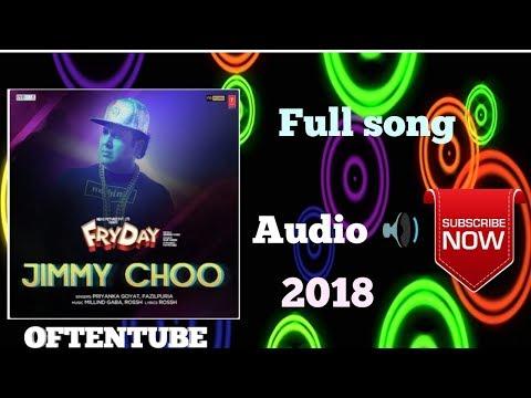 Jimmy choo Full Audio |FRYDAY |Govinda|Varun sharma|Fazilpuria|Natasa Stankovic| 2018