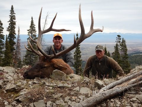 2014 Elk Hunt With Trophy Mountain Outfitters Wyoming