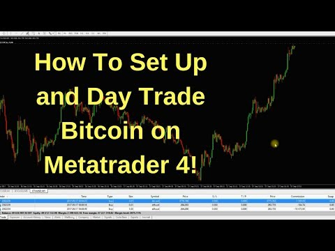 How Day Trade Bitcoin \u0026 Crypto On Metatrader 4!