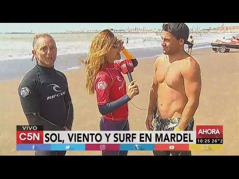 C5N - Verano 2017: Sol, viento y surf en Mar del Plata (Parte 2)