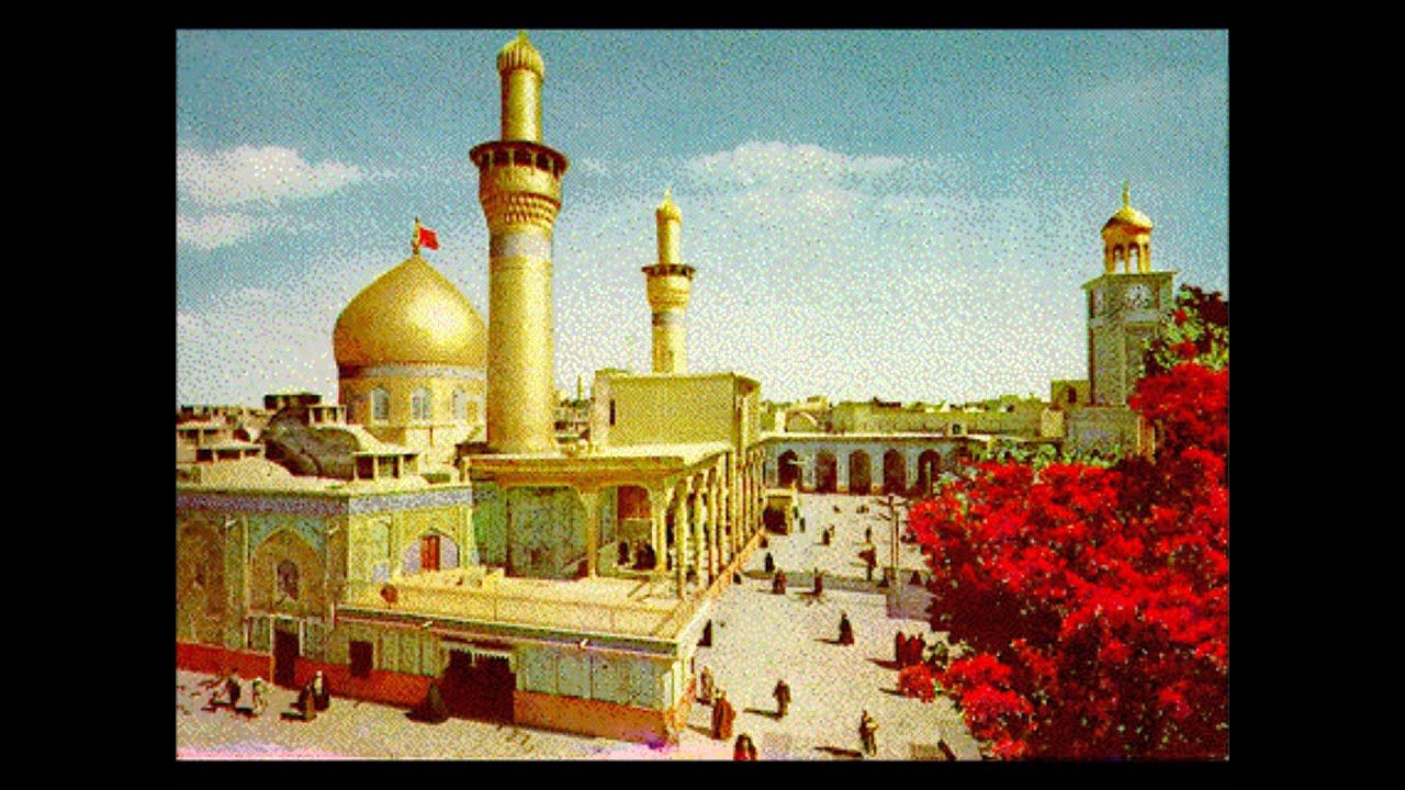Maula Ali Shrine Wallpaper: Javeen Qasida Jithe Babul Hussain Ve