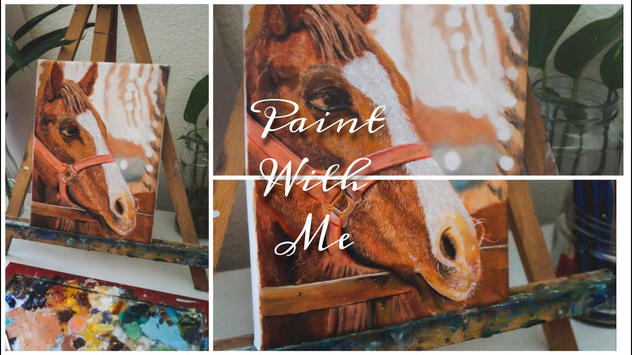How to paint a horse in oils | oil painting 🎨
