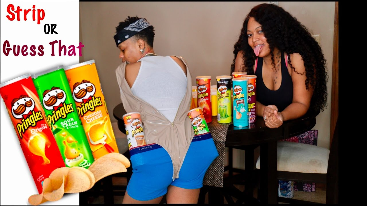Strip Or Guess That Chip Pringle Challenge