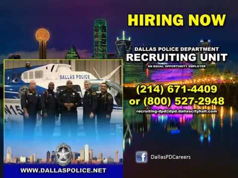 Dallas Police Department Recruiting
