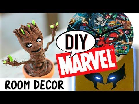 DIY MARVEL : Les Gardiens de la Galaxie, Wolverine, Baby Groot (français)