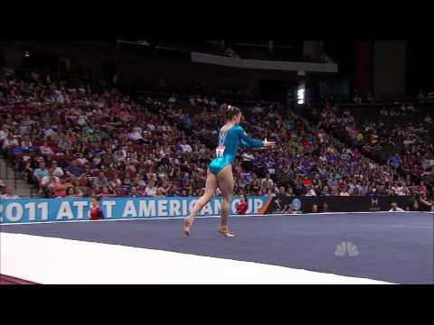 Hannah Whelan - Floor Exercise - 2011 AT&T American Cup