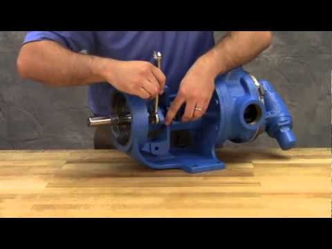Michael Smith Engineers Ltd - Disassembly & Repair Of Viking Universal Seal Pump With Packing