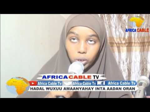 TARTAN AQOONEEDKA CITYFM IYO AFRICA CABLE TV 4 06 17